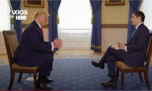 Axio's Swan Interview A Master Class in How to Interview Trump and Other Hard To Interview Politicians